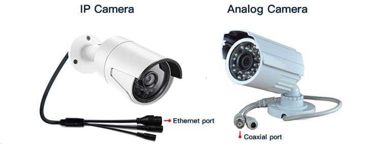 تفاوت دوربین تحت شبکه با آنالوگ