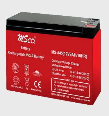 باتری 9 آمپر 12 ولت شارژی ام اس کو
