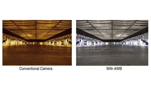 تکنولوژی AWB در دوربین مداربسته