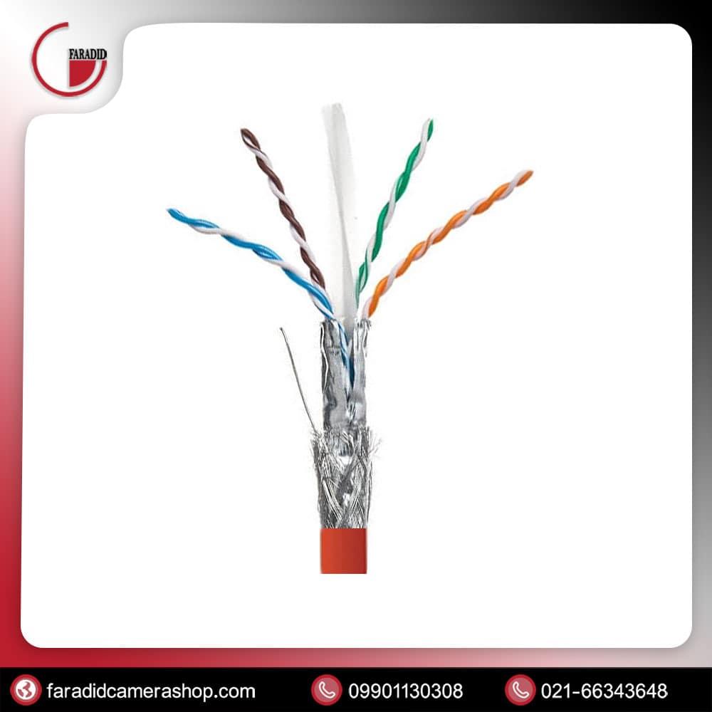کابل شبکه CAT6 SFTP نگزنس 500 متری