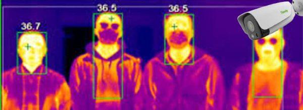 دوربین مداربسته برای پیشگیری از کرونا