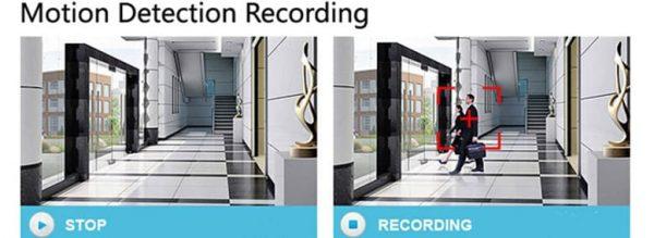 قابلیت تشخیص حرکت Motion Detection