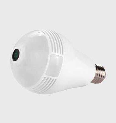 قیمت و مشخصات دوربین مداربسته لامپی V380 pro